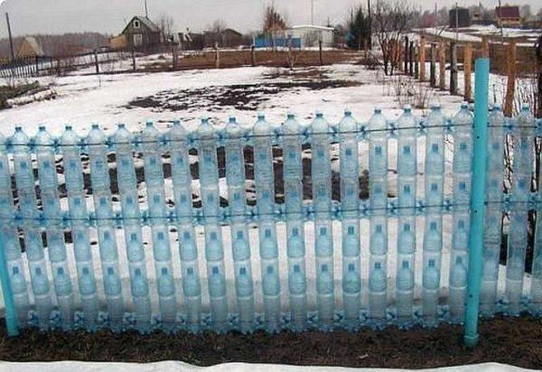 Симпатичный забор