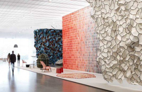 Примеры гипсовых панелей для декора стен (с выставки)