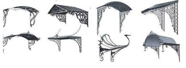Красивое оформление при помощи ковки традиционной или холодной