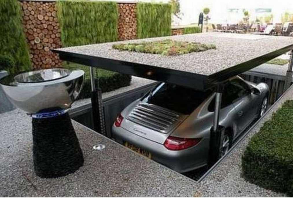 Стоянка (парковка) на даче своими руками