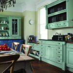 Когда зеленый на кухне - основной цвет