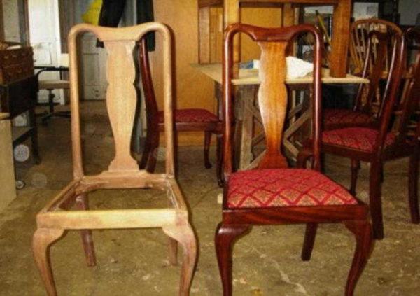 Чтобы отреставрированный стул был удобным, надо правильно рассчитать толщину слоев