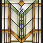 Замечательный рисунок для окна или мебели
