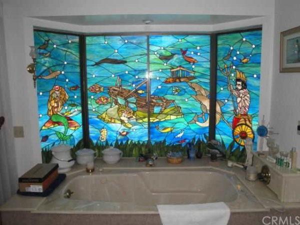 Морская тематика в ванной - закономерно