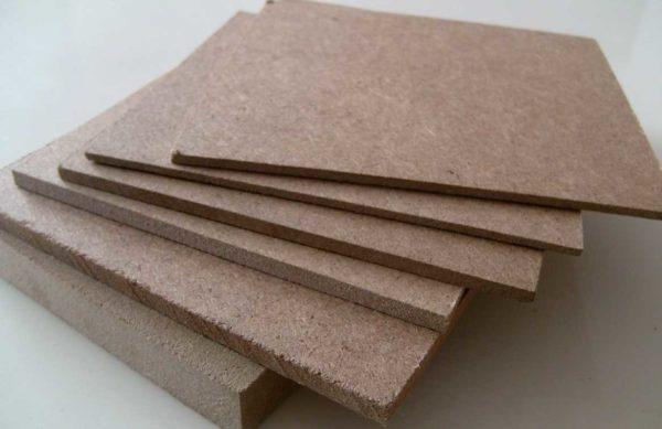 Древесно-волокнистые плиты могут быть разной толщины и плотности