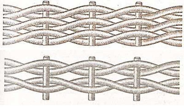 Сменив стартовое расположение трубочки, получаем другой по внешнему виду узор