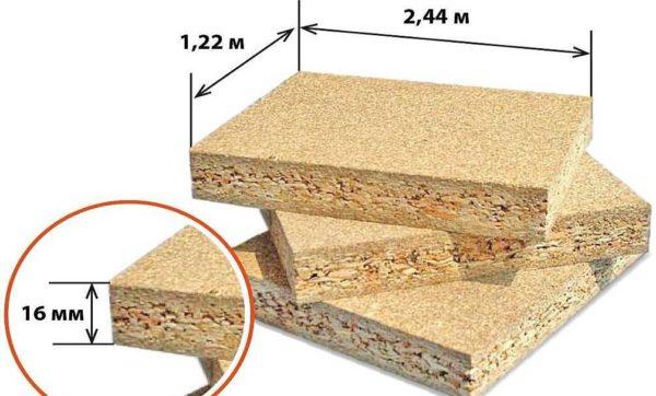 Длина, ширина и толщина листа определяются ГОСТом