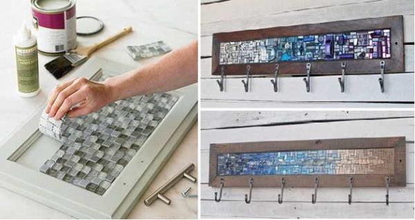 Можно использовать очень мелкую мозаику