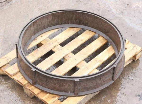 Кольцо колодца полимерпесчаное h-200мм d-1000мм