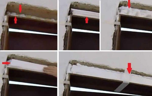 Как поставить доборы на межкомнатную дверь: заполняем верхний зазор