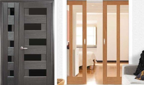 Распашная и раздвижная двери