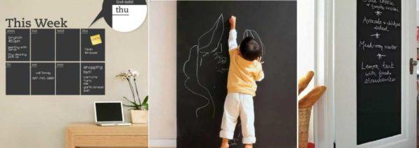 Наклейки на стены можно использовать по-разному