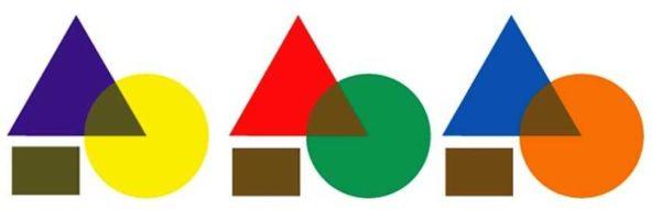 Как получить коричневый цвет при смешивании красок дополнительного ряда