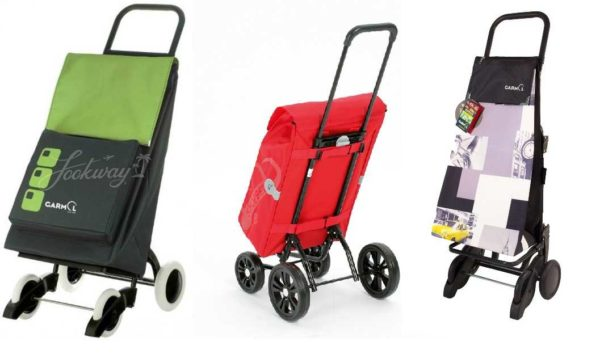 Хозяйственная сумка-тележка на колесах: четыре колеса это - стабильно и надежно