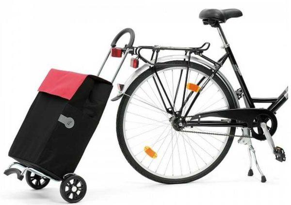 Одна из возможностей использования - транспортировать при помощи велосипеда