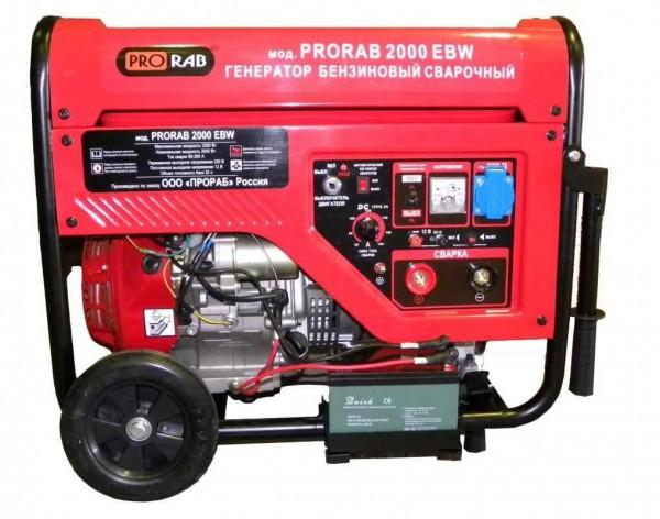 Сварочный генератор - это комбинация дизельного или бензинового электрогенератора и сварочного аппарата