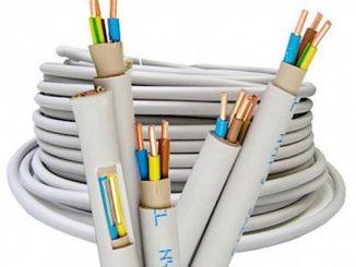 Один из вариантов электрического кабеля в тройной изоляции (NUM)