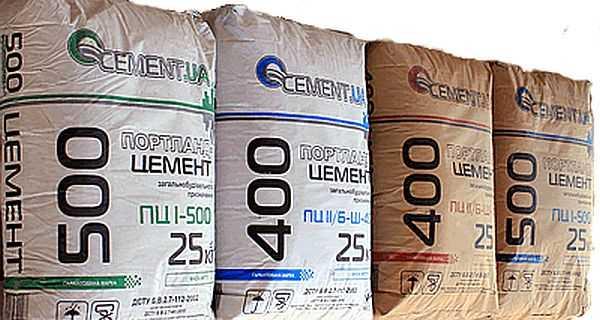Марка цемента нужна для фундамента обычно M400 или M500