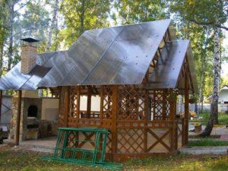 Очень интересный вариант: дизайн повторяет форму дома