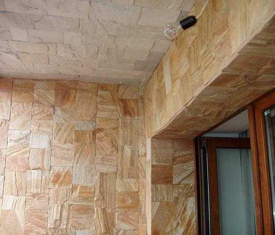 Варианты оформления стен и потолка