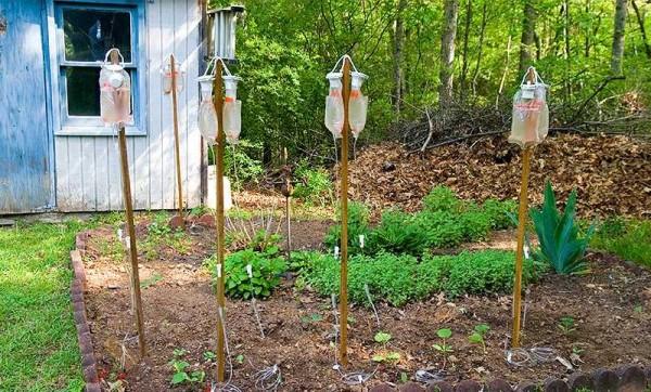Капельный полив для теплицы урожай 1