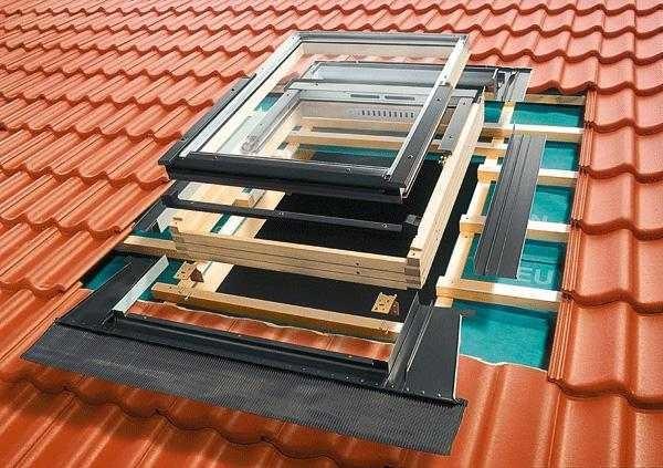 Что нужно для установки мансардного окна и порядок монтажа составляющих