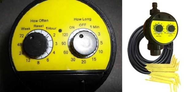 Это Аква Дуся кран - очень компактная система для капельного полива от водопровода
