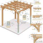 Вместо деревянных колонн использованы стальные, обшитые древесиной