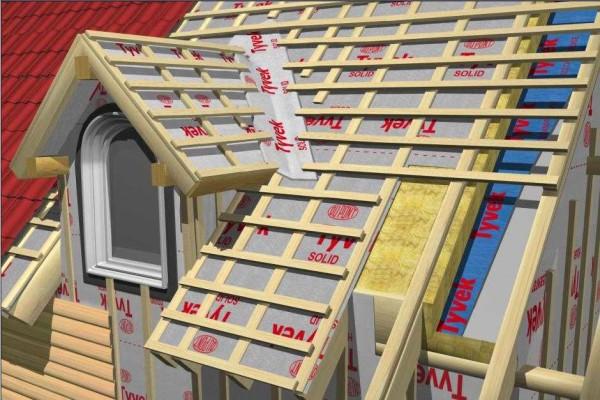 Утепление ломанной крыши мансардного типа необходимо проводить по определенным правилам