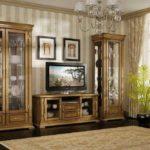 Мебель в зал для классического интерьера
