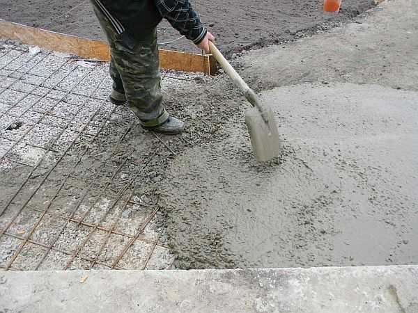 Примерная консистенция бетона