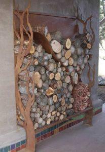 Лист металла убережет стены от древоточцев (деревянные, естественно)