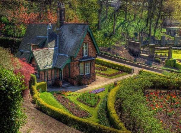 Классический пример английского огорода