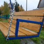 Как сварена основа для скамейки