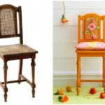 Переделка старого стула