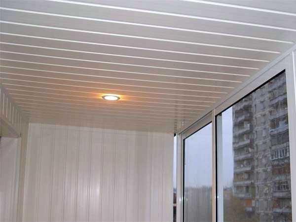 Реечные пластиковые потолки
