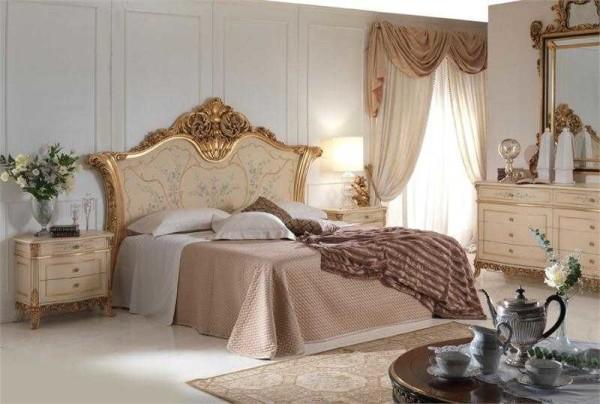 Пример спальни в классическом стиле