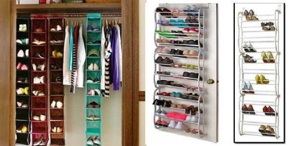 Системы хранения обуви в гардеробной