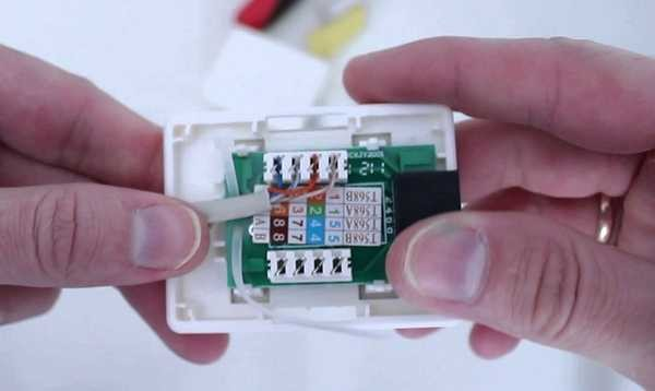Подключение настенной розетки с 4-мя проводами