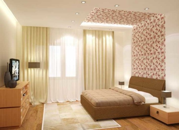 Размываем грани между стеной и потолком, визуально делая комнату выше
