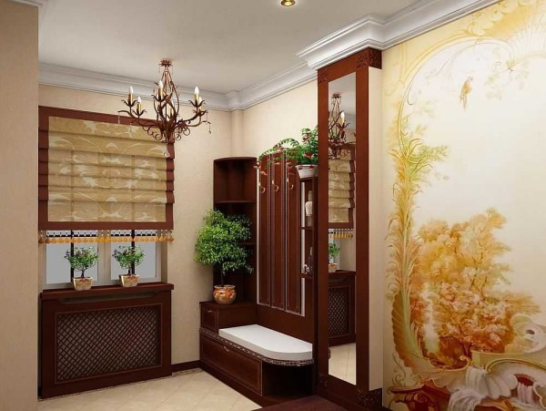 Оформление прихожей в частном доме может быть в любом стиле, но желательно, чтобы оно совпадало с основным стилем дизайна всего дома