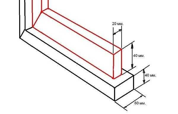 Как приваривать профильную трубу 40*20 мм
