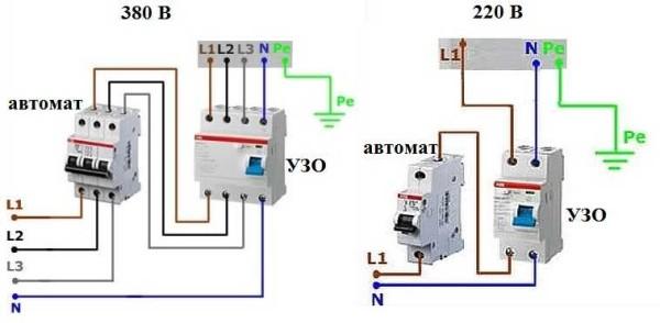Схемы подключения варочной панели к электросчетчику