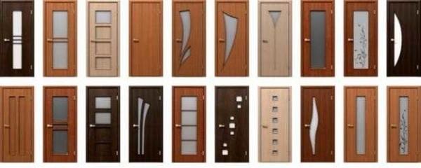 Межкомнатные двери разные не только по дизайну, но еще и делают их из разных материалов