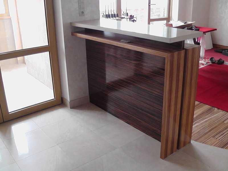 Вариант барной стоки - стола