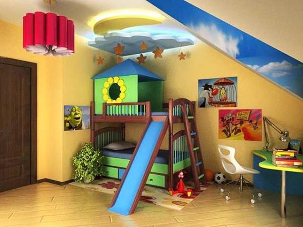 Когда ребенок один, а двухэтажную кровать хочется...