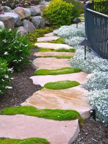 Дорожки для сада в японском стиле