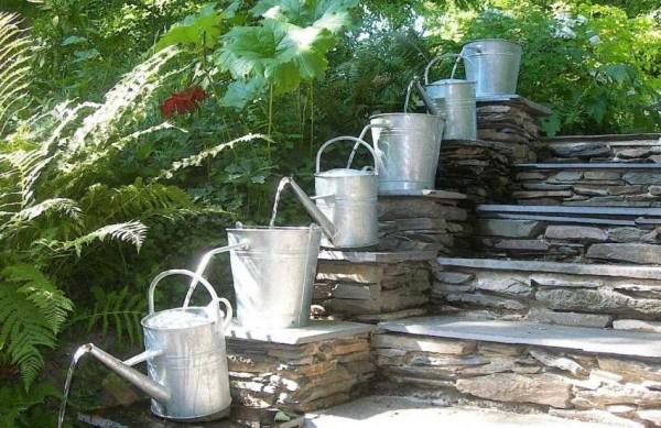 Водопад по ступенькам, только в непривычном исполнении