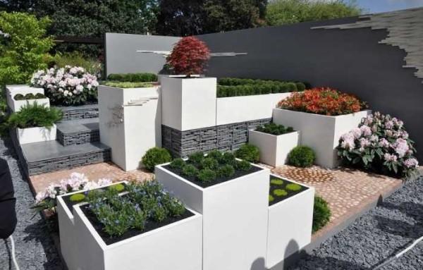 Огород-цветник с стиле модерн