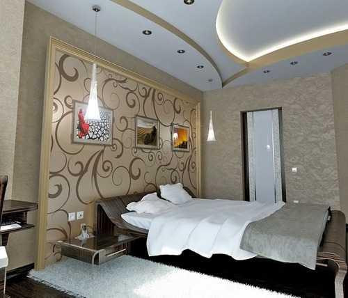 Лучше всего в спальнях использовать матовые поверхности